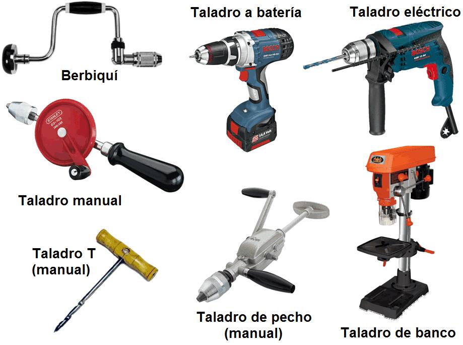 Taladro funciones tipos accesorios y partes de un taladro - Accesorios para taladros electricos ...